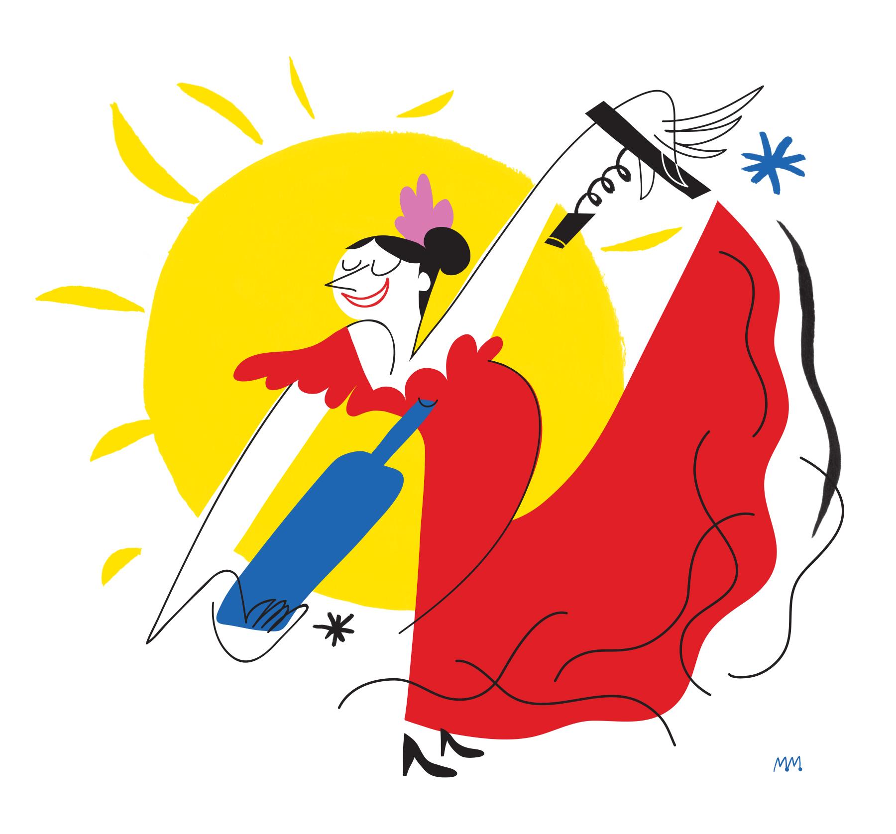 Vins et Flamenco / Wine and flamenco
