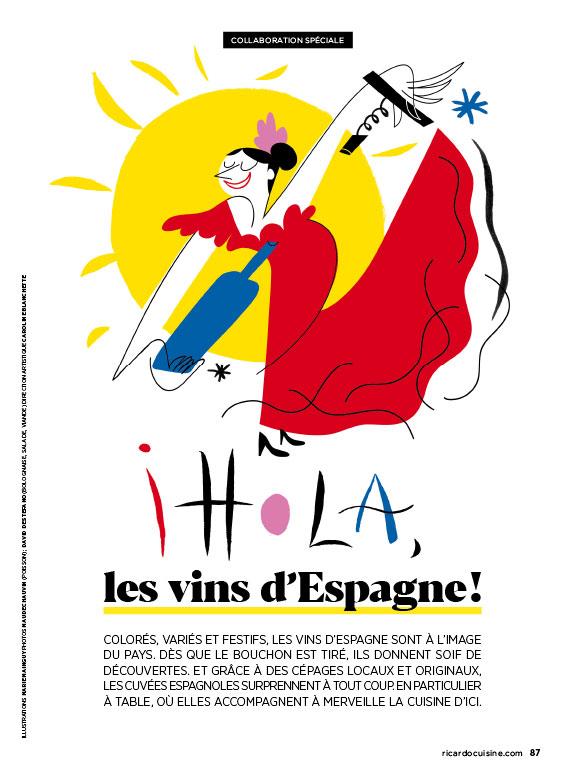 Vins et Flamenco / Wines and flamenco